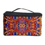 Oriental Watercolor Ornaments Kaleidoscope Mosaic Cosmetic Storage Case