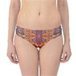 Oriental Watercolor Ornaments Kaleidoscope Mosaic Hipster Bikini Bottoms
