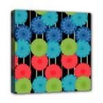 Vibrant Retro Pattern Mini Canvas 8  x 8