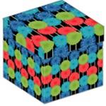 Vibrant Retro Pattern Storage Stool 12