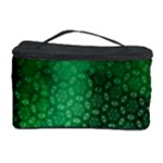 Ombre Green Abstract Forest Cosmetic Storage Case