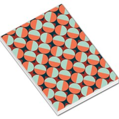 Modernist Geometric Tiles Large Memo Pads by DanaeStudio