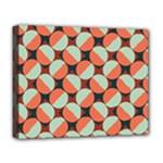 Modernist Geometric Tiles Deluxe Canvas 20  x 16