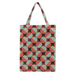 Modernist Geometric Tiles Classic Tote Bag by DanaeStudio