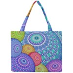 India Ornaments Mandala Balls Multicolored Mini Tote Bag