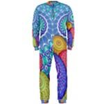 India Ornaments Mandala Balls Multicolored OnePiece Jumpsuit (Men)