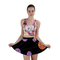 Alphabet Shirtjhjervbret (2)fvgbgnh Mini Skirt by MRTACPANS