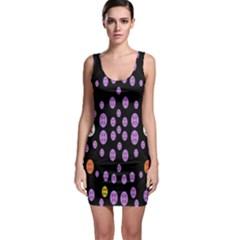 Alphabet Shirtjhjervbret (2)fvgbgnhllhn Sleeveless Bodycon Dress by MRTACPANS