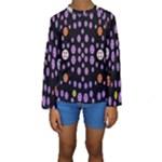 Alphabet Shirtjhjervbret (2)fvgbgnhllhn Kids  Long Sleeve Swimwear