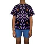 Alphabet Shirtjhjervbret (2)fvgbgnhllhn Kids  Short Sleeve Swimwear