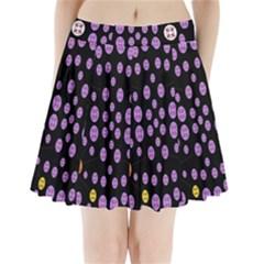 Alphabet Shirtjhjervbret (2)fvgbgnhllhn Pleated Mini Skirt by MRTACPANS