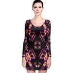 Alphabet Shirtjhjervbret (2)fv Long Sleeve Velvet Bodycon Dress