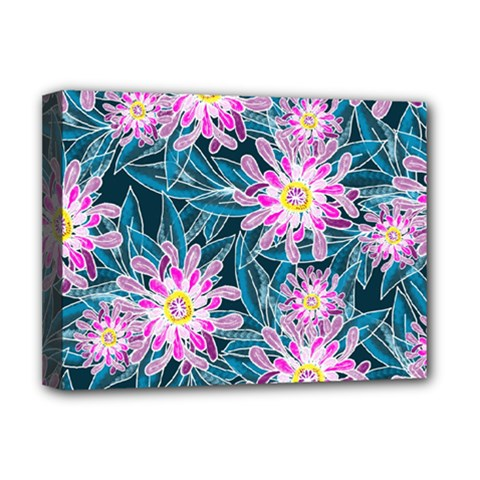 Whimsical Garden Deluxe Canvas 16  X 12   by DanaeStudio