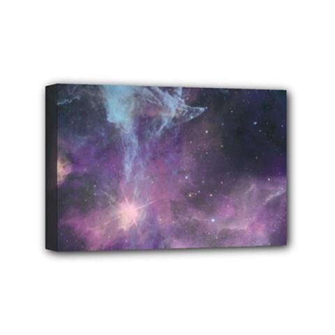 Blue Galaxy  Mini Canvas 6  X 4  by DanaeStudio