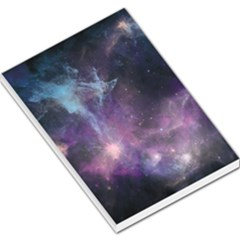 Blue Galaxy  Large Memo Pads by DanaeStudio