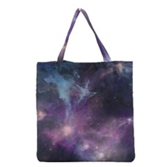 Blue Galaxy  Grocery Tote Bag by DanaeStudio