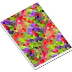 Colorful Mosaic Large Memo Pads by DanaeStudio