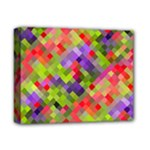 Colorful Mosaic Deluxe Canvas 14  x 11