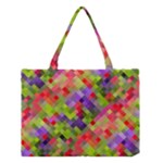 Colorful Mosaic Medium Tote Bag