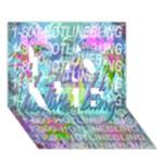 Drake 1 800 Hotline Bling LOVE 3D Greeting Card (7x5)