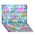 Drake 1 800 Hotline Bling Heart Bottom 3D Greeting Card (7x5)