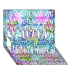 Drake 1 800 Hotline Bling You Are Invited 3d Greeting Card (7x5) by Onesevenart