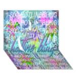 Drake 1 800 Hotline Bling Apple 3D Greeting Card (7x5)