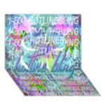 Drake 1 800 Hotline Bling Clover 3D Greeting Card (7x5)