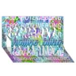 Drake 1 800 Hotline Bling Congrats Graduate 3D Greeting Card (8x4)