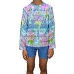 Drake 1 800 Hotline Bling Kids  Long Sleeve Swimwear
