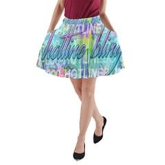 Drake 1 800 Hotline Bling A Line Pocket Skirt by Onesevenart