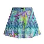 Drake 1 800 Hotline Bling Mini Flare Skirt