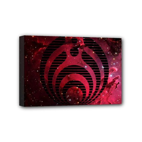 Bassnectar Galaxy Nebula Mini Canvas 6  X 4  by Onesevenart