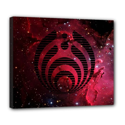 Bassnectar Galaxy Nebula Deluxe Canvas 24  X 20   by Onesevenart