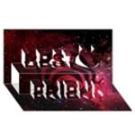 Bassnectar Galaxy Nebula Best Friends 3D Greeting Card (8x4)