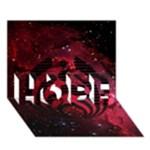 Bassnectar Galaxy Nebula HOPE 3D Greeting Card (7x5)