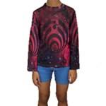 Bassnectar Galaxy Nebula Kids  Long Sleeve Swimwear