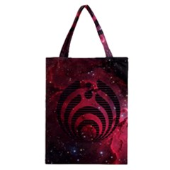 Bassnectar Galaxy Nebula Classic Tote Bag by Onesevenart