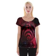 Bassnectar Galaxy Nebula Women s Cap Sleeve Top by Onesevenart