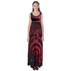 Bassnectar Galaxy Nebula Empire Waist Maxi Dress by Onesevenart