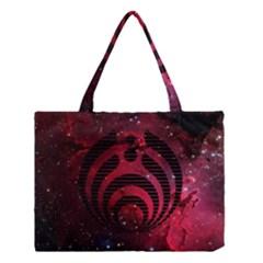 Bassnectar Galaxy Nebula Medium Tote Bag by Onesevenart