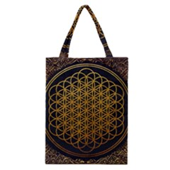 Bring Me The Horizon Cover Album Gold Classic Tote Bag by Onesevenart