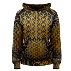 Bring Me The Horizon Cover Album Gold Women s Pullover Hoodie by Onesevenart