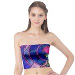 Enchanted Rose Stained Glass Tube Top