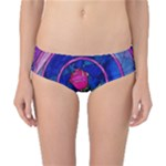 Enchanted Rose Stained Glass Classic Bikini Bottoms