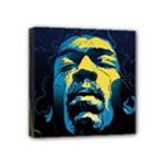 Gabz Jimi Hendrix Voodoo Child Poster Release From Dark Hall Mansion Mini Canvas 4  x 4