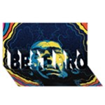 Gabz Jimi Hendrix Voodoo Child Poster Release From Dark Hall Mansion BEST BRO 3D Greeting Card (8x4)
