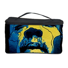 Gabz Jimi Hendrix Voodoo Child Poster Release From Dark Hall Mansion Cosmetic Storage Case by Onesevenart