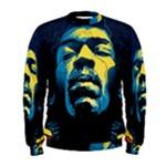 Gabz Jimi Hendrix Voodoo Child Poster Release From Dark Hall Mansion Men s Sweatshirt