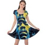 Gabz Jimi Hendrix Voodoo Child Poster Release From Dark Hall Mansion Cap Sleeve Dresses